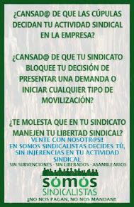 Forma parte del cambio sindical!!! Afíliate aquí y ahora!!