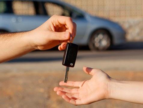 llaves de un carro