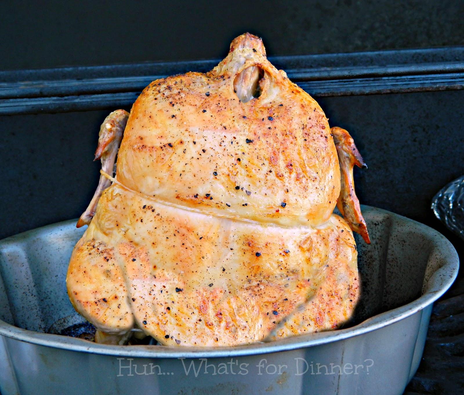 Grilled Bundt Pan Chicken- www.hunwhatsfordinner.com #Herbamare