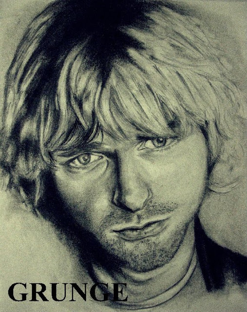 Ivan Hoo Illustration Kurt Cobain