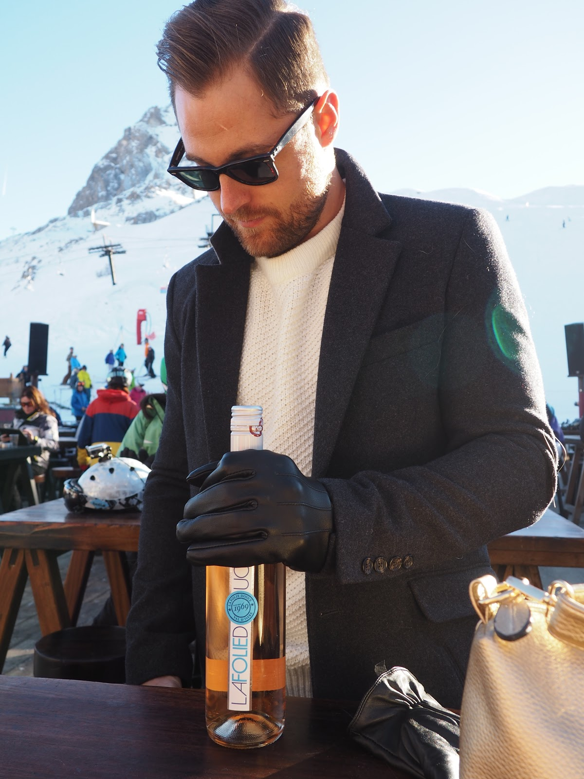 Ben Heath, Twenty First Century Gent at La Folie Douce, Val d'Isere, France