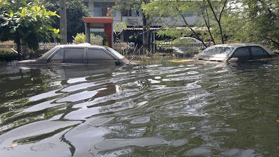 รถถูกน้ำท่วมมาหรือป่าว