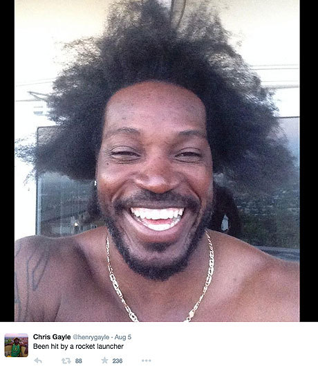 Cricketer Chris Gayle, has set social media imagination on fire  by sharing photos of his bed room at his Jamaican home. The mansion size room comes with a stripper pole, a king size ''hanky  panky'' bed and a two-way see through mirror on the ceiling.  The stripper pole picture, which he posted on Instagram, first went viral.