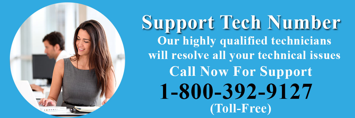 Support Tech Number 1-800-392-9127