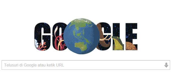 Google Earth Day Hadir Dengan Doodle Dan Quiz Yang Lucu