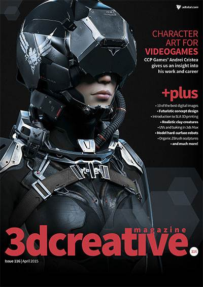 3DCreative Issue 116 - April 2015