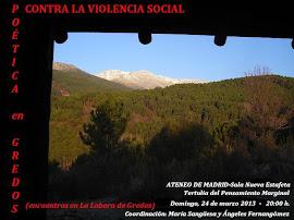 POÉTICA EN GREDOS (Encuentros en la Lobera) en el ATENEO DE MADRID dentro del la TERTULIA DEL PENSA