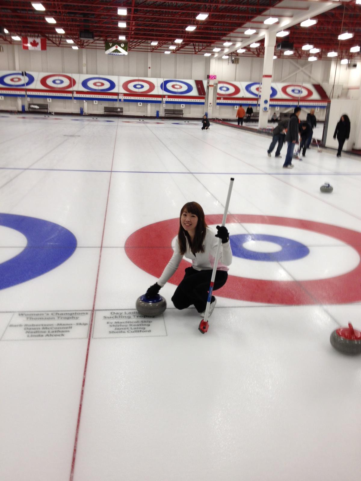 first time curling
