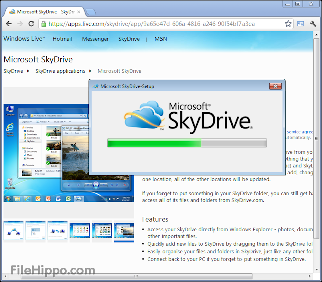 free download skyedrive build 17