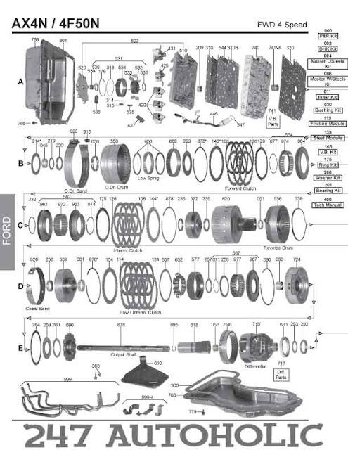 2014 ford fusion hybrid transmission