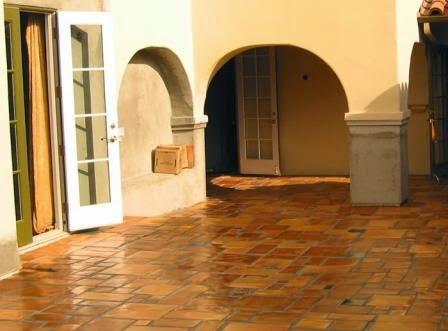 Avente Tile's Rustic Cement Tile Pavers