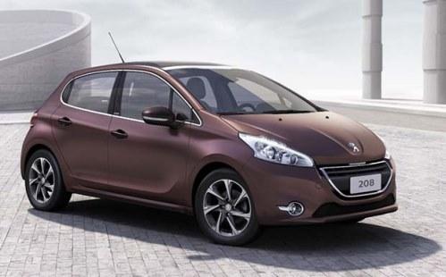 novo Peugeot 208 2014 dianteira