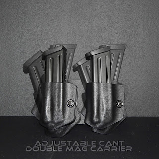 Holster and Mag Carrier Combo Holster, holster that holds mag carrier, mag holster, magazine carrier, owb holster, holster that holds pistol and magazine, holster that holds gun and extra mag
