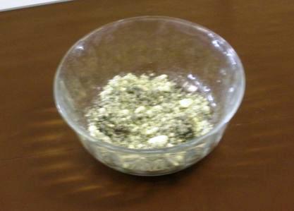 Reazione tra argento e zolfo
