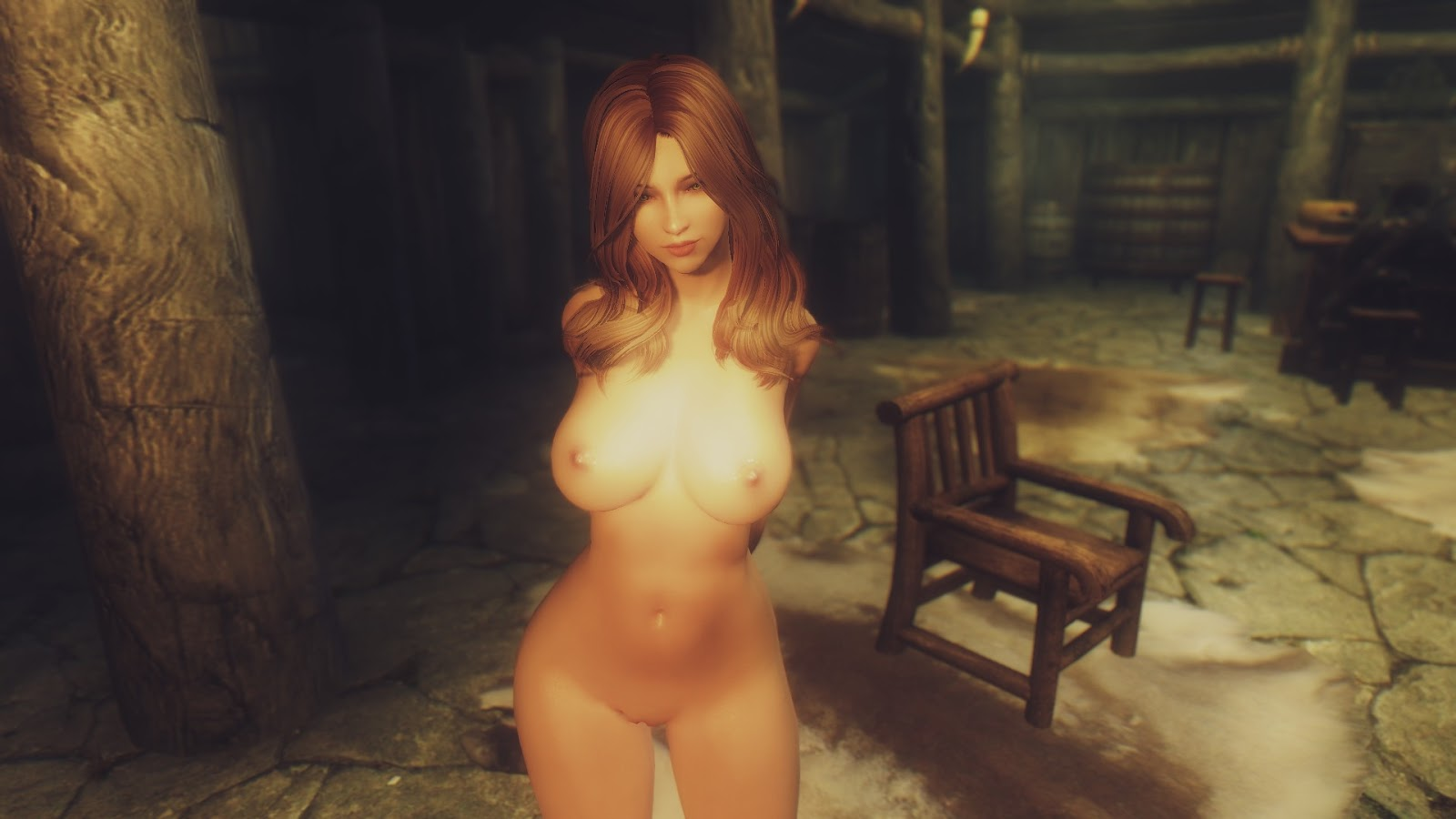 Skyrim nude models nsfw shaved girlfriends