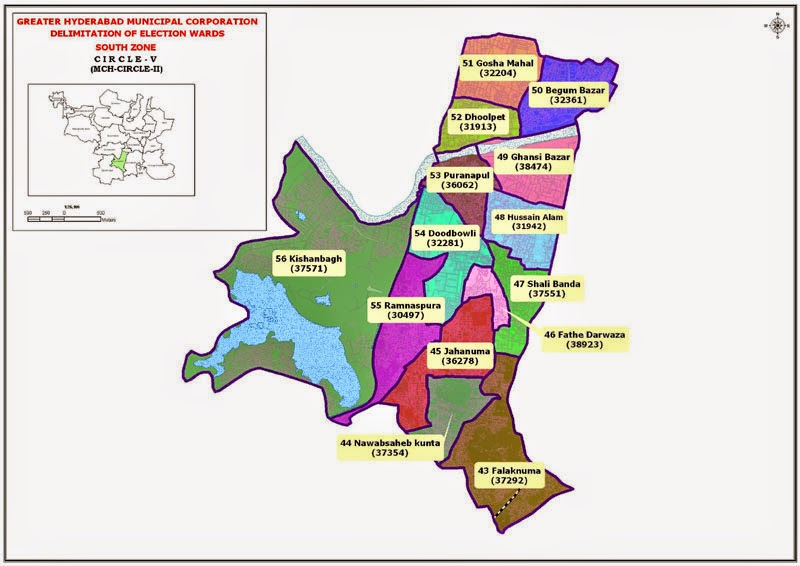 GHMC Circle 5 Map