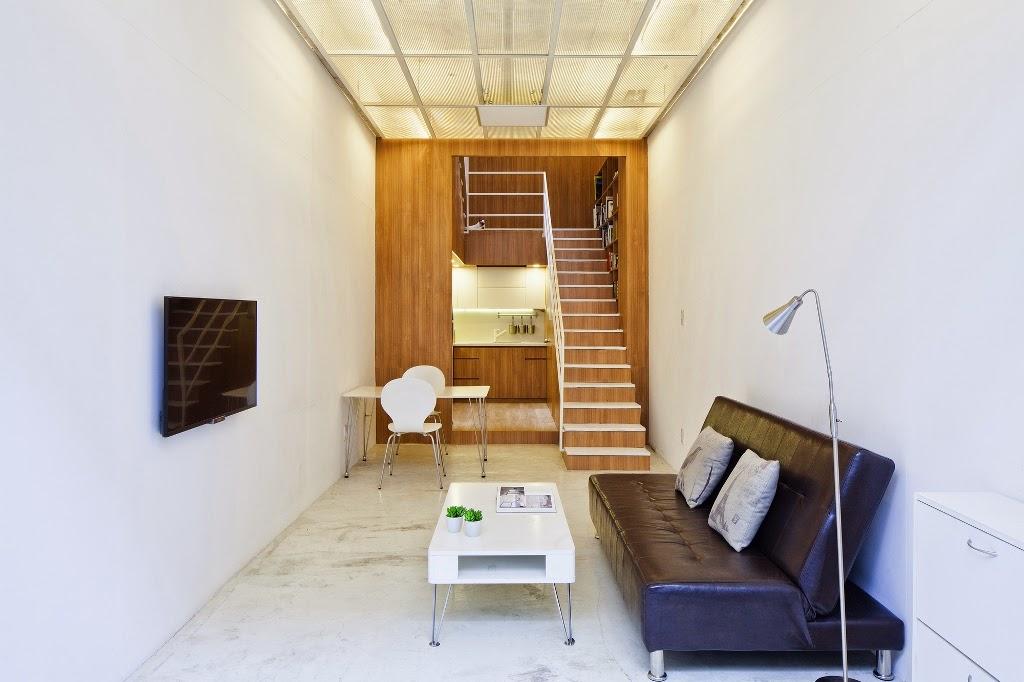 Interior Rumah Di Lahan Sempit 3x10 Meter