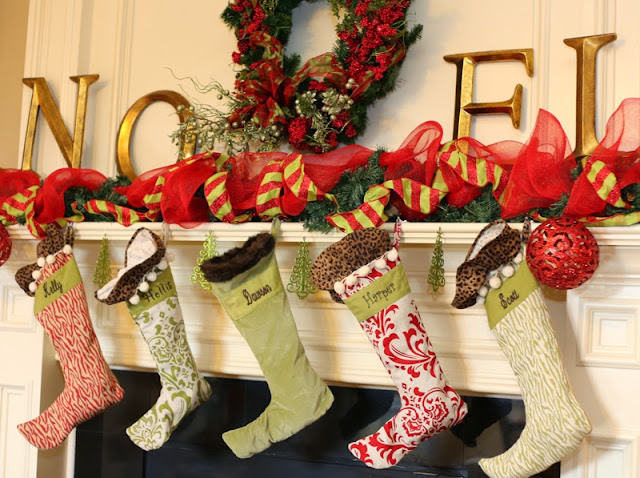 I Have Had These Stockings Bought At Ballard Designs About 8 Years Ago They Are Probably My Favorite Christmas Decoration Still Love Them Later