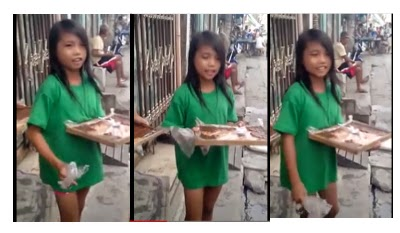 new internet sensation bibingka girl