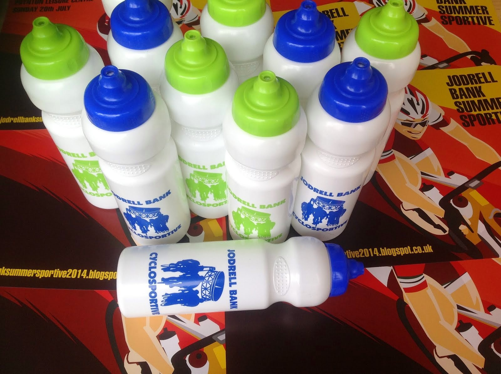 Free Custom Printed Sports Bottle to Every Rider
