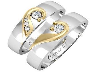 [Chia sẻ]-HN Nhẫn cưới vàng trắng tại Hà Nội TSNS-NC07