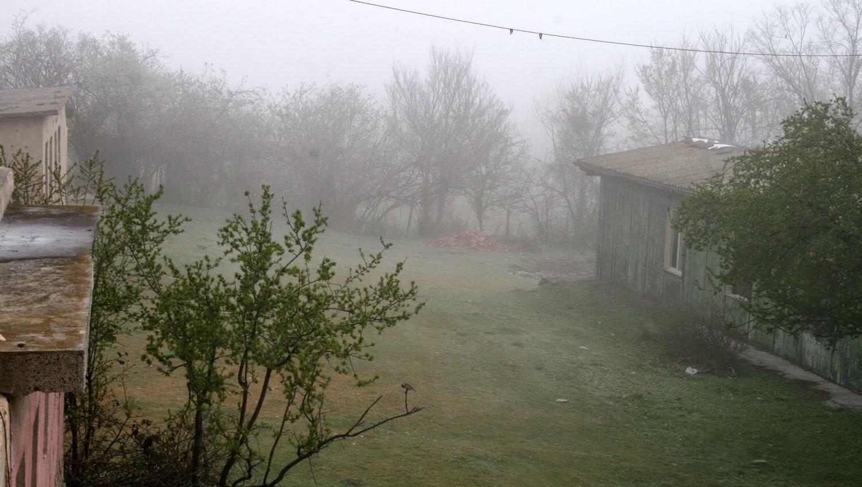 Misty start once again