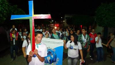 Missão Jovem Diocesana em São Sebastião (AL)