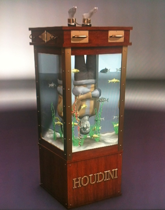 Harry Houdini Chinese Water Torture Cell