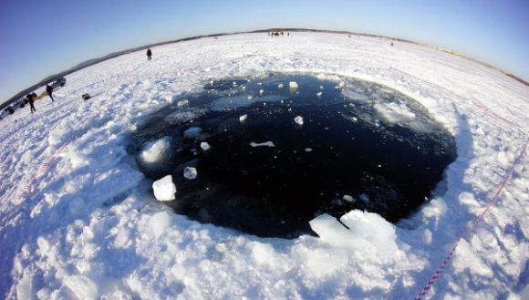 Meteor jatuh di Rusia