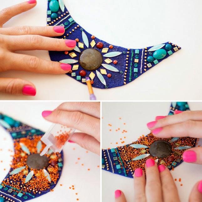 DIY, Collar Etnico para Año Nuevo