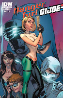 Danger Girl/G.I. Joe #5 Cover