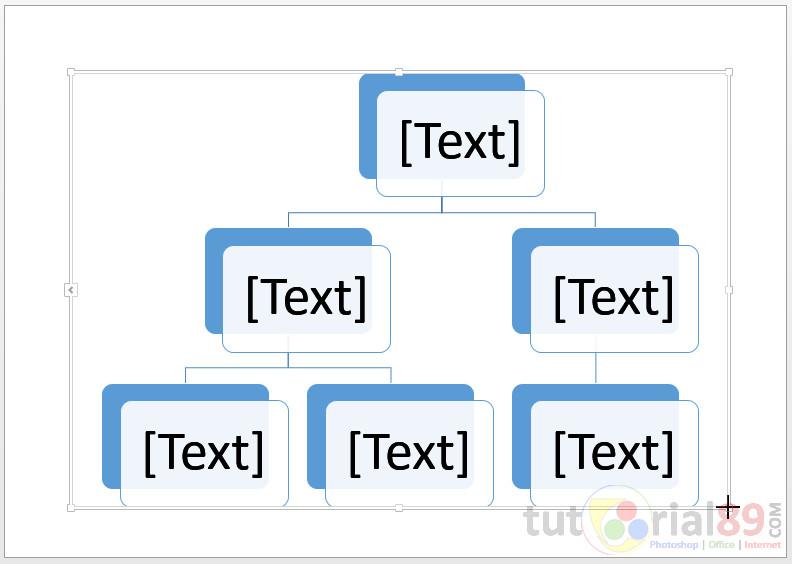 Cara membuat struktur organisasi dengan word + Video