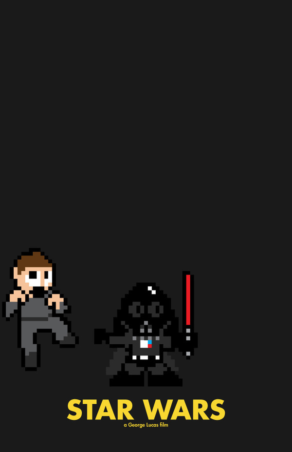 funny pictures, funny, awesome, cool, art, movie, 8-bit movie posters