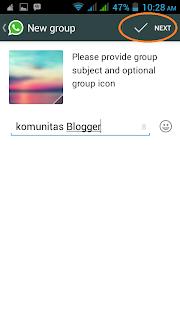 memberi nama group whatsapp