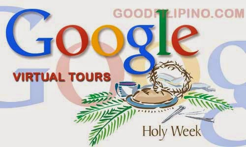 3 Philippine Sites included on Google's virtual tour for Holy Week staycation