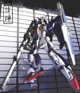 deviantart digital painting fanart gundam fan art sandrum gp01fb full vernian zeph