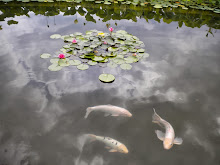Fish and Clouds with Lilies