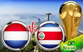 Prediksi Skor Belanda vs Kosta Rika 6 Juli 2014  Piala Dunia