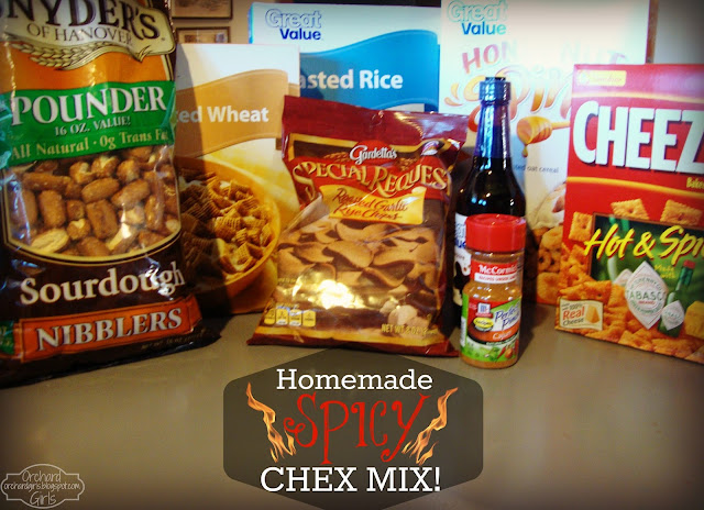 Homemade - Spicy Chex Mix