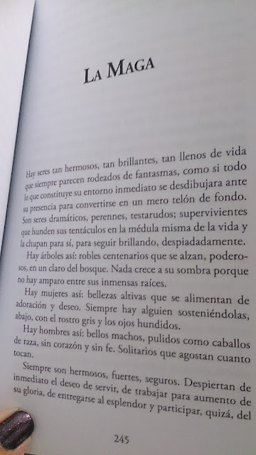 Fragmento La Maga y otros cuentos crueles Elia Barceló (Cazador de ratas editorial)