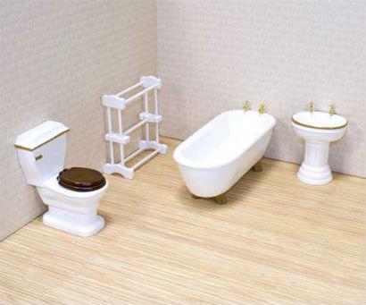 simple bathroom furniture