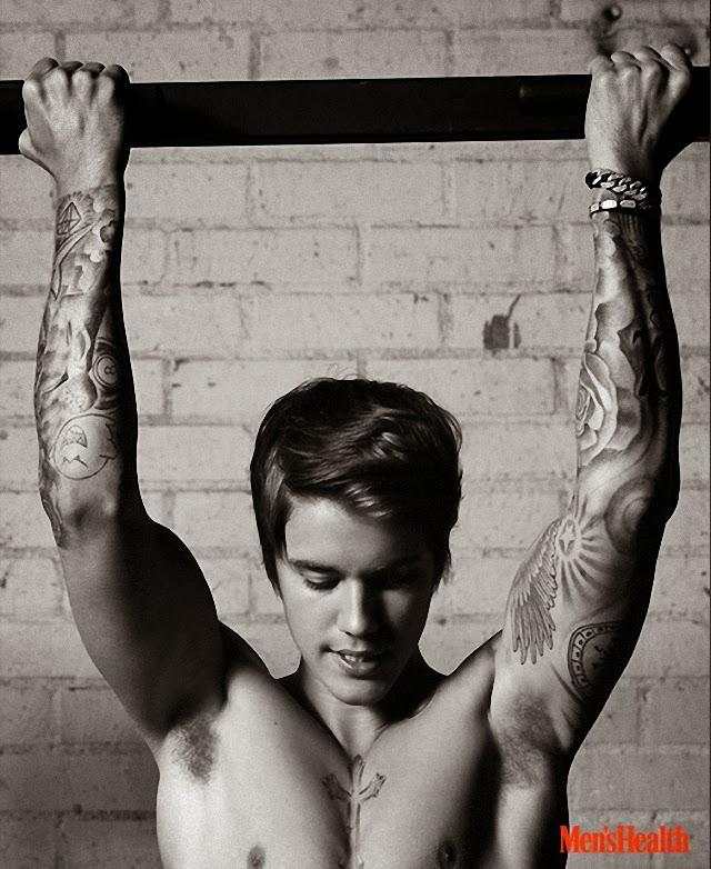 Vean el nuevo cuerpo de Justin Bieber