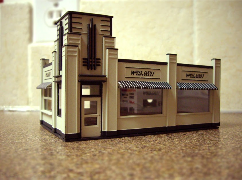 Ty U0026 39 S Model Railroad  Walthers White Tower Restaurant