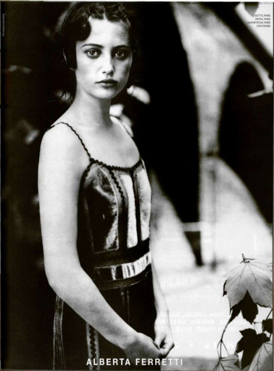 Alberta Ferretti Fall/Winter 1999 campaign by Paolo Roversi