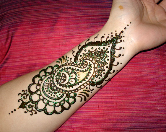 Latest easy arm mehndi 2013 mehndi desings 2013 for Henna tattoo arm designs