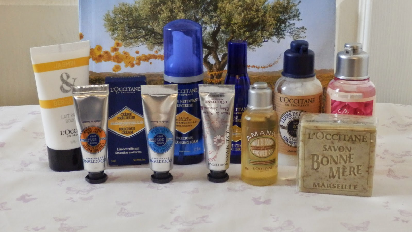 L'Occitane Instyle Shopping Event Haul Goodie Bag