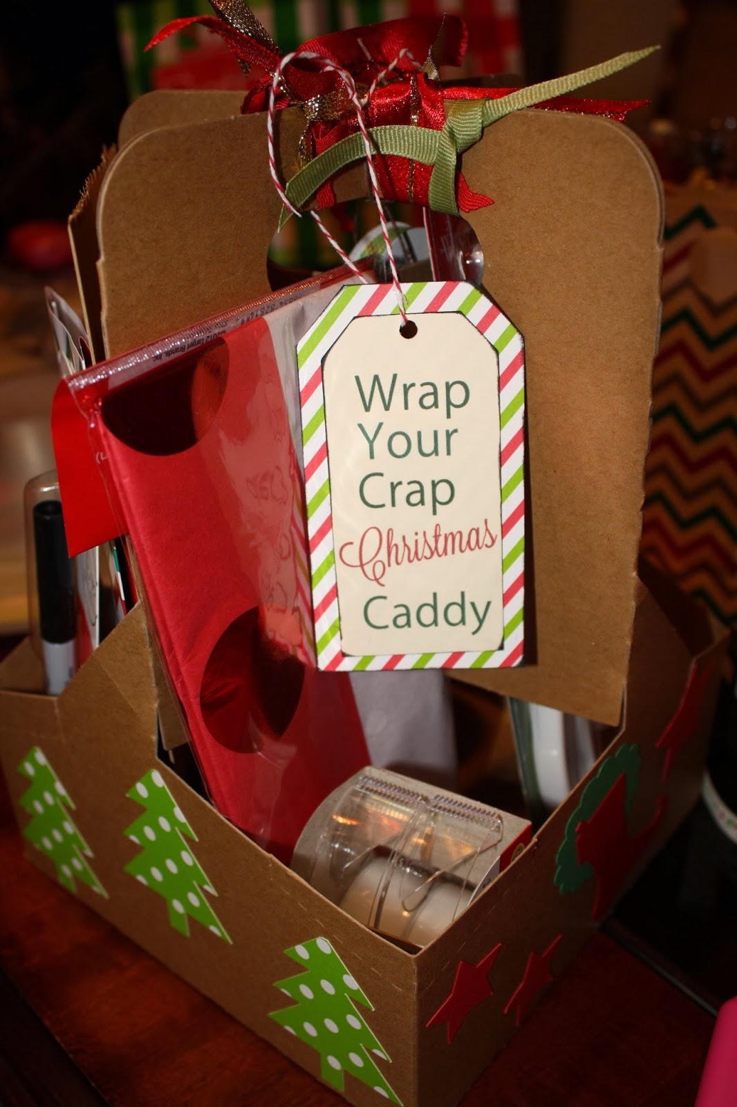 Our Final Cost Of The Caddy Came To About 10 With Most Items Being 1 Expensive Item Was Scissors At 3 But Holiday Themed Ones We Used