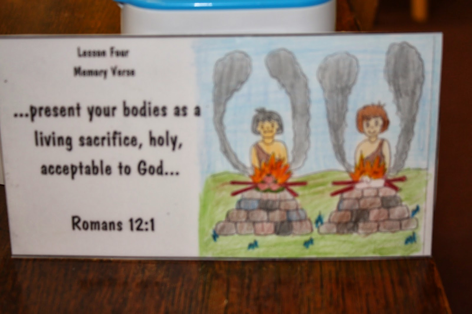 Cain and abel craft ideas - I Want The Kiddos To Understand That God Wants Our Best And We Must Give Him No Less