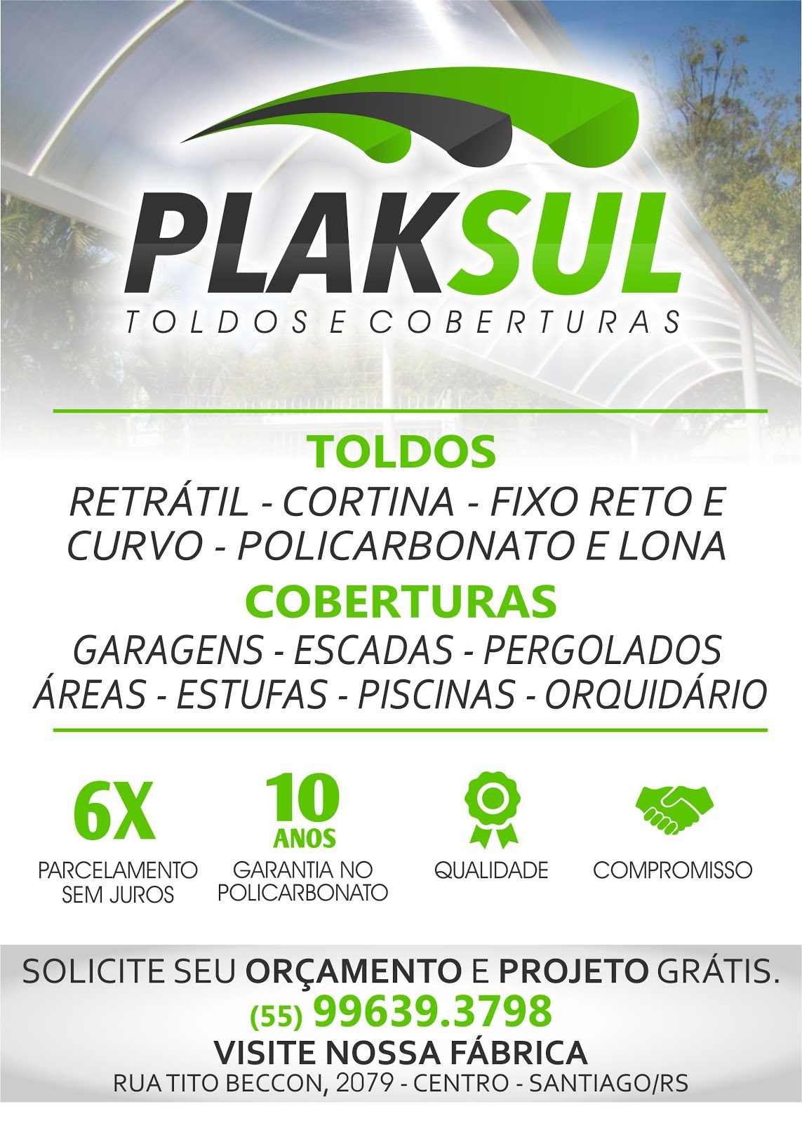 Plaksul Toldos e Coberturas