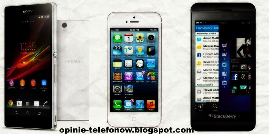 Recenzje telefonów